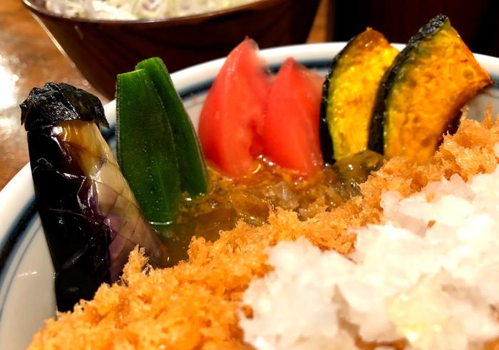 冷やしカレーかつ丼(渋谷かつ吉限定)3