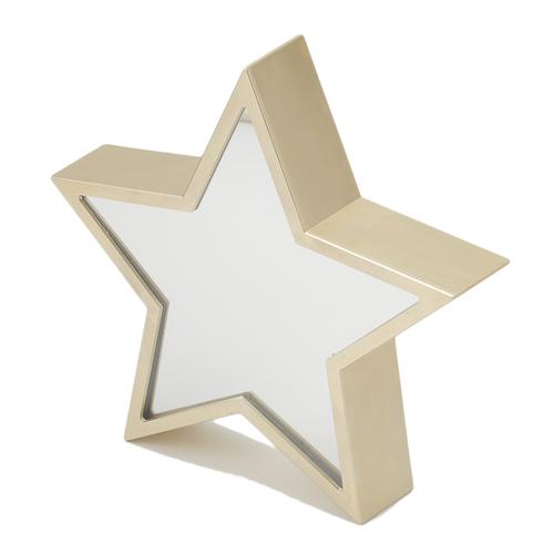 「ミラー Tunnel Light Star」価格:1,280円/サイズ:W24×D5×H24cm