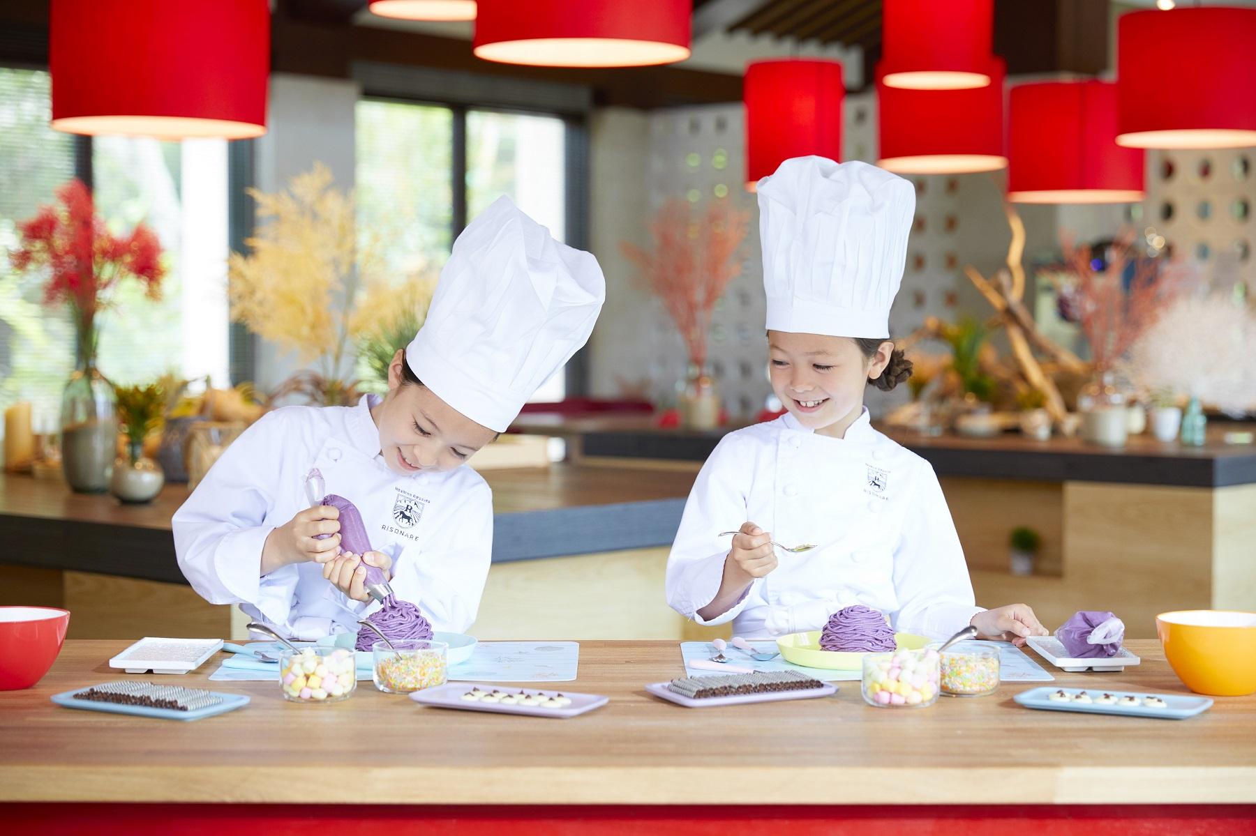 【リゾナーレ小浜島】子供たちが趣向をこらしたスイーツづくりを体験 「リゾナーレキッズスタジオ ~リゾ... 画像