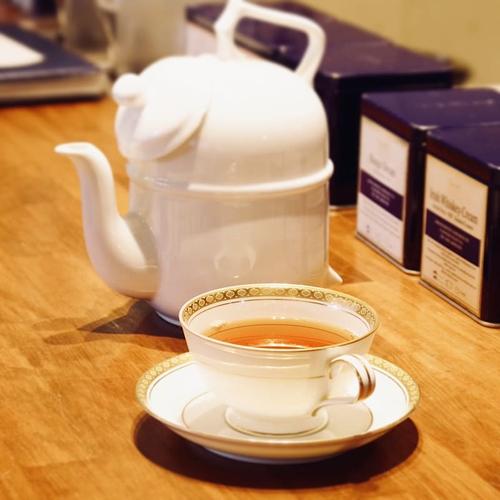 世界的な高級紅茶ブランド、ロンネフェルト・ティ・サロン・名古屋の紅茶