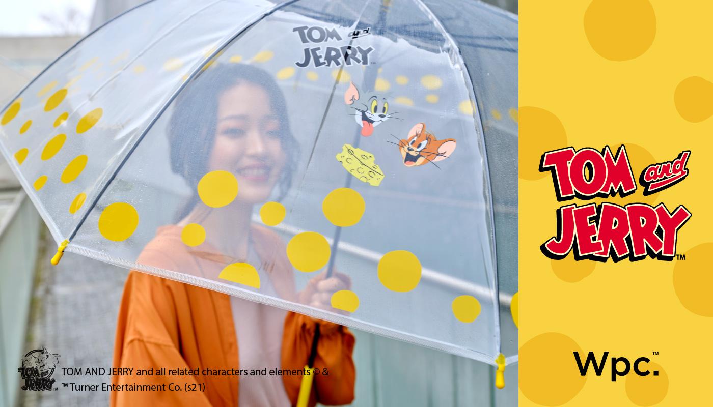 Wpc.からトムとジェリーのビニール傘&折りたたみ日傘が数量限定で登場! 画像