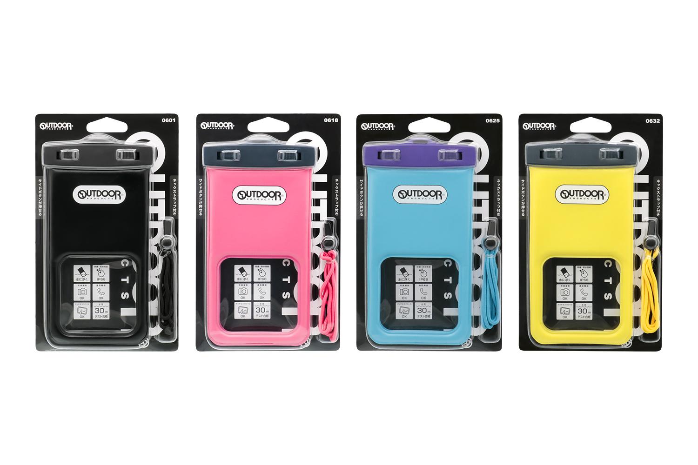 OWL-WPCSP17のパッケージ。カラーはブラック、ピンク、スカイブルー、イエローの4種類