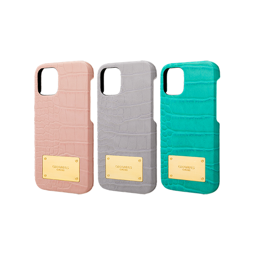 Croco Embossed PU Leather  Shell Case