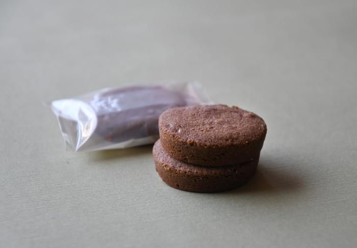 ココア風味の「ガレット ド ナンシー」。