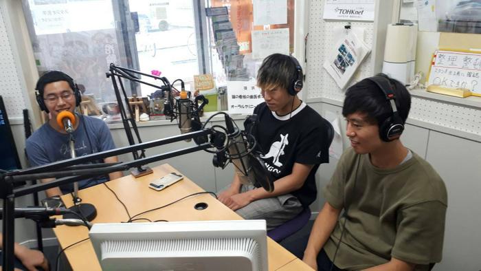 地元ラジオ「鹿角きりたんぽFM」へのゲスト出演