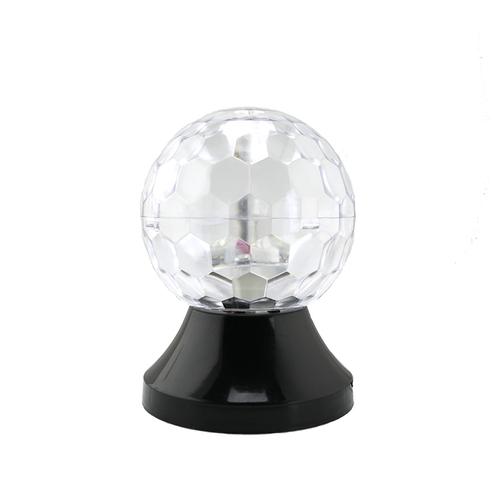 「LED ミラーボール」価格:1,078円/サイズ:W10×D10×H13.5cm