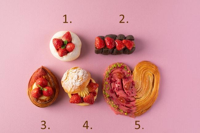 【東京マリオットホテル】 旬の苺ならではの美味しさを、5つのスタイルで。「春のストロベリーブレッドフ... 画像