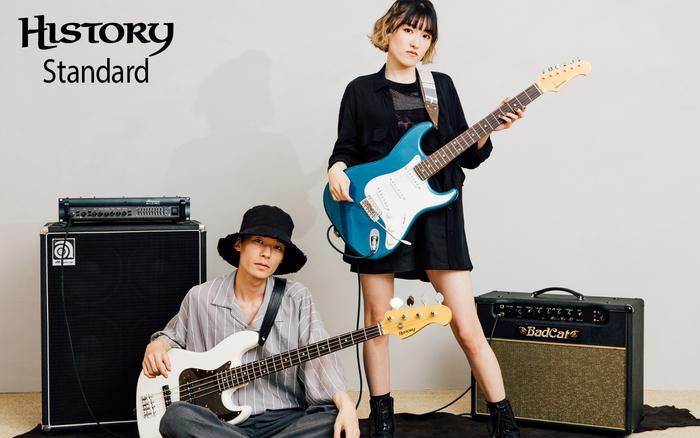 メインビジュアルには、Loiroのベーシスト/Takuma Sato氏(左)と、ギタリスト/RURI氏(右)を起用