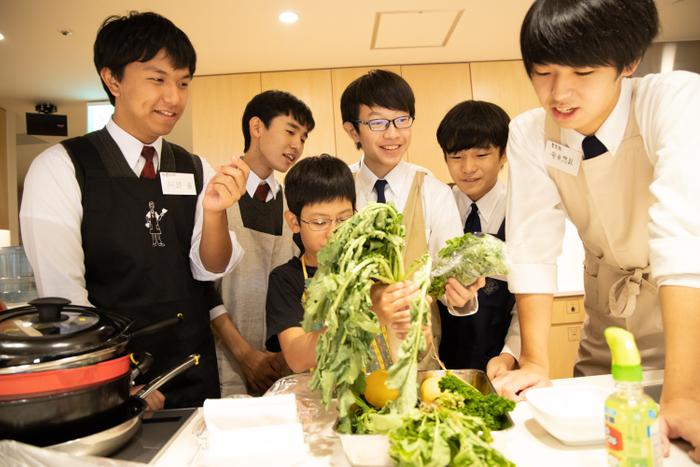 男子高生が創る料理   【写真提供:クックパッド㈱】