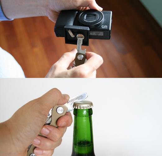 マイナスドライバーを兼ねた、ボトルオープナー