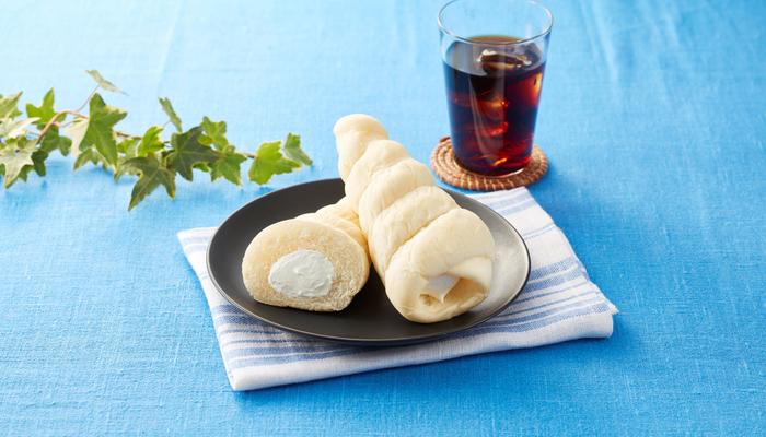 ソフトクリームみたいなパン 販促画像 <画像はイメージです>