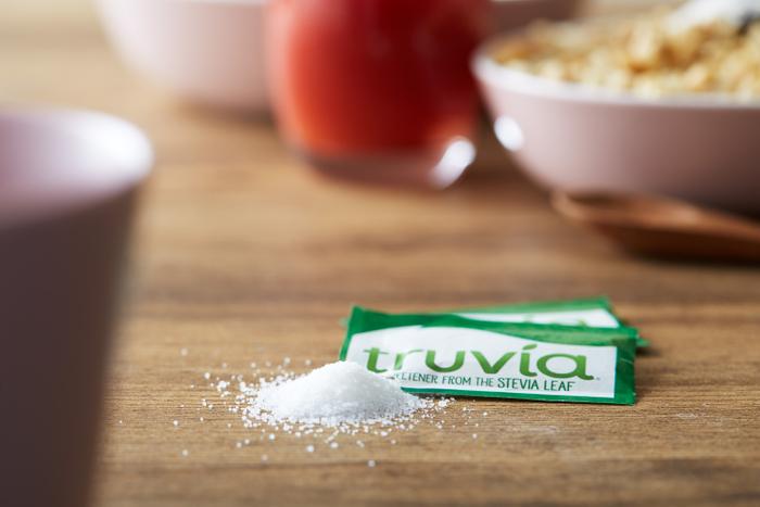 アメリカ国内でNo.1のシェアを誇るスタイリッシュな甘味料「truvia」