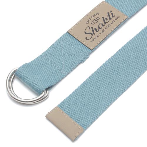 「Yoga ベルト Shakti BL」ヨガのポーズをキープする際に使用するヨガ専用ベルト。