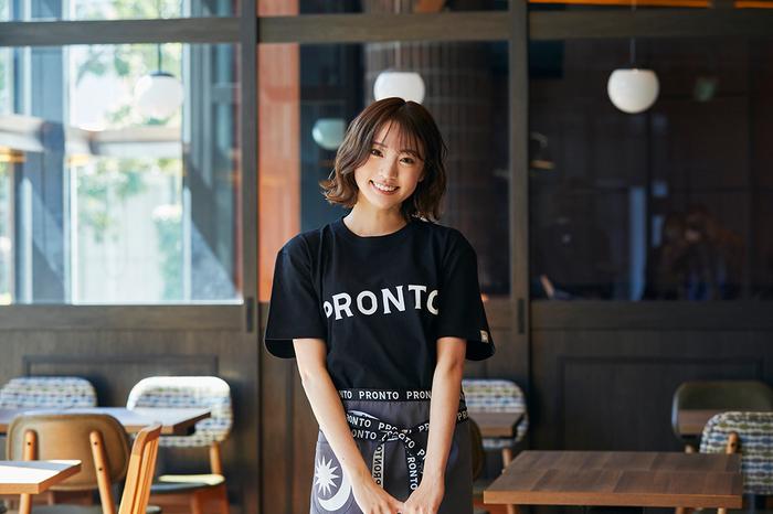 写真はモデルの志田友美さん