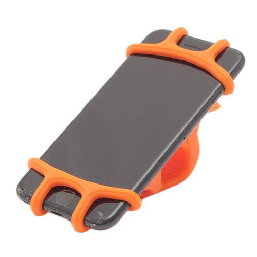 「スマートフォンホルダー」自転車のハンドルバーに取り付けるスマートフォンホルダー。 シリコン素材なのでしっかりホールドできます。