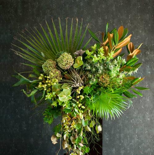 お花の窓口 2020オータムコレクション スタンド花