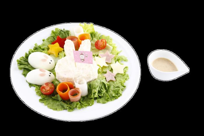 うさことテル子のカラフルイースターポテトサラダ 1,100円