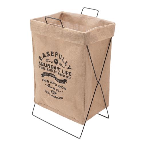 「ジュート ランドリーバスケット Ease」価格:1,078円/サイズ:W36×D29×H60cm/耐荷重:約8kg