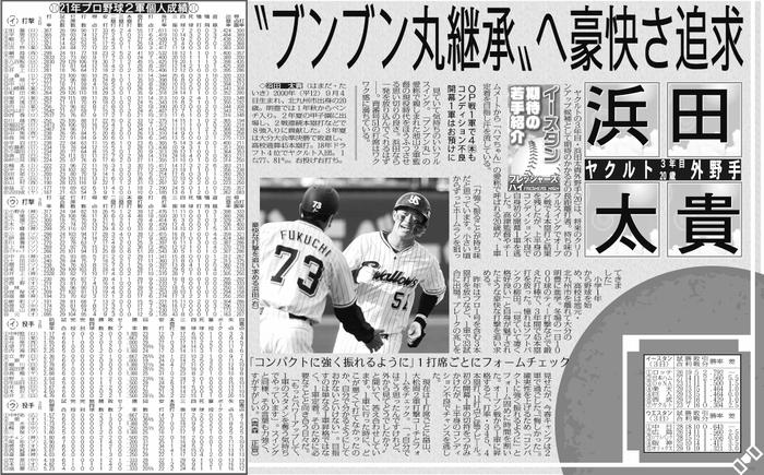 例・スポプリ・プロ野球2軍情報