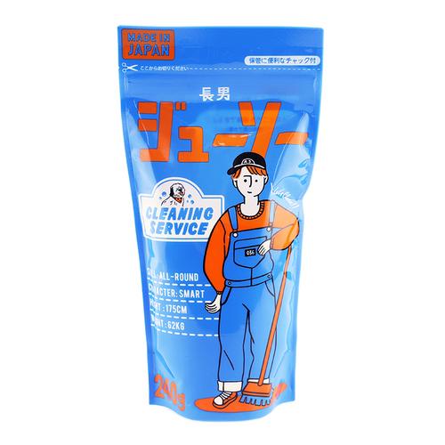 「長男ジューソー 240g」価格:107円/そうじから洗濯まで様々なシーンで使用可能。