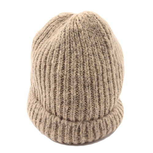 「ニット帽 Rame Rib(ベージュ)」価格890円