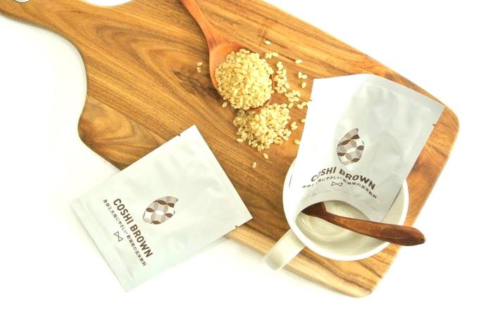 玄米からできた日本のドリンク COSHI-BROWN