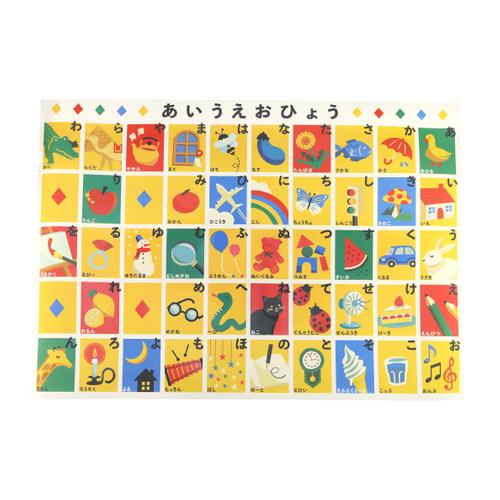 「お風呂ポスター Hiragana」価格:429円 ※5月下旬発売予定