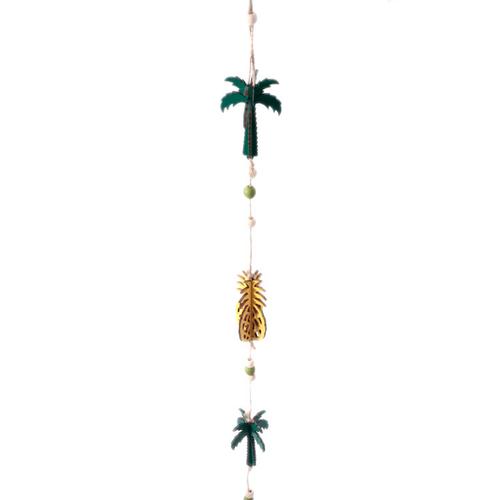 Wood ガーランド Pineapple