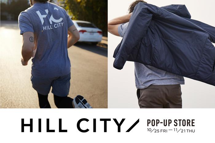 HILL CITYポップアップストア