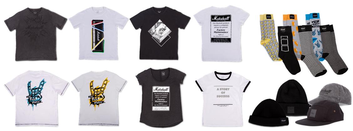 英国ギターアンプブランド「マーシャル」のライセンス商品からTシャツ ...