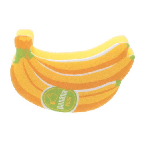 「キッチンスポンジ Banana」価格:98円/サイズ W13×D3×H9cm/キャッチ―なバナナのキッチンスポンジ。