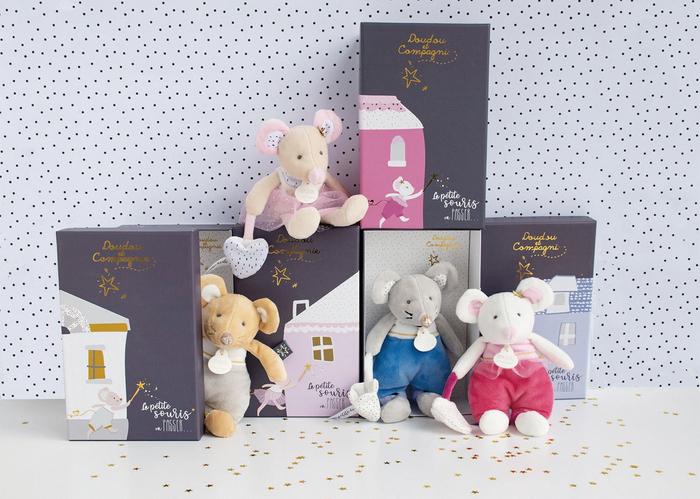 2020年ネズミ年生まれのベビーにぴったりな「リトルマウス・ドール」コレクション