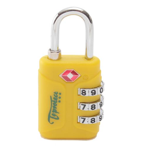 「TSAロック 3ダイヤル」価格:490円/TSAによって認可された3桁ダイヤル式 の南京錠。