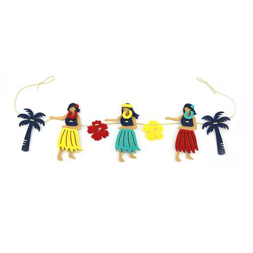 「フェルトガーランド Hawaiian 21」価格:319円/サイズ:W75×D1×H13cm