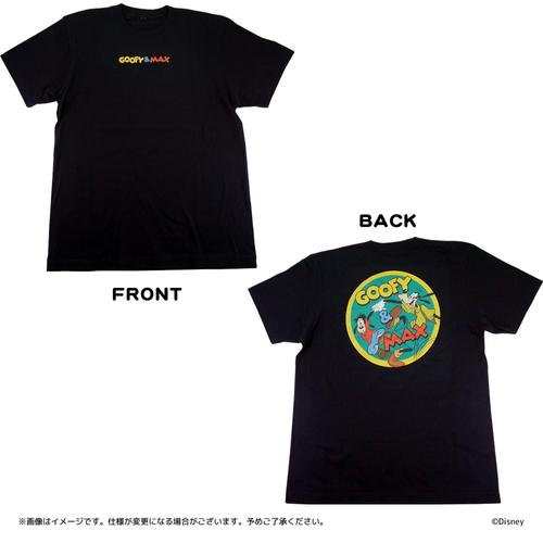 Tシャツ グーフィー&マックス ブラック