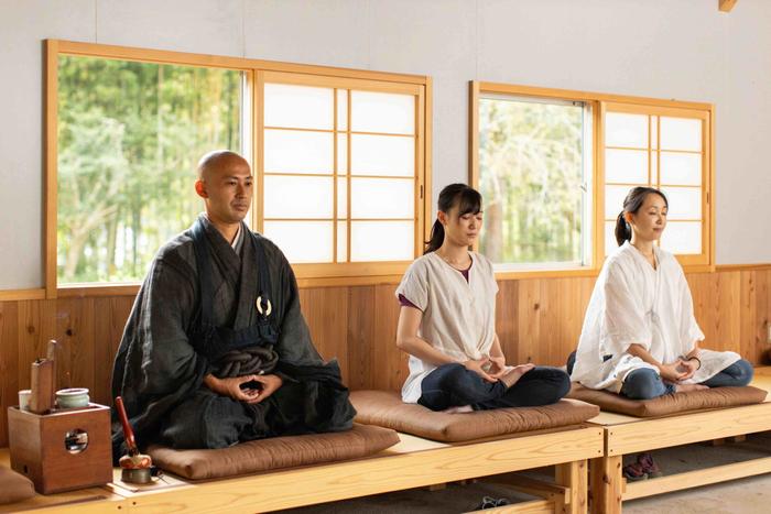 大泰寺(和歌山県那智勝浦町)禅堂にて禅体験