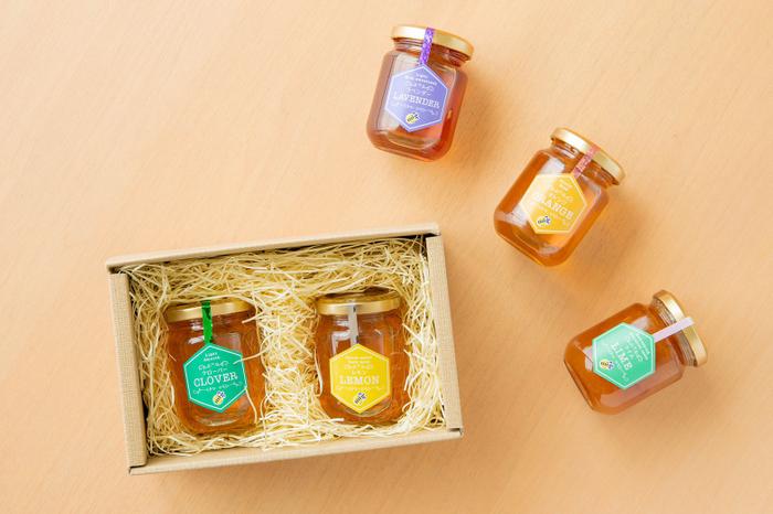 「ミエレオリジナル選べる蜂蜜セット」 1,980円(税込)