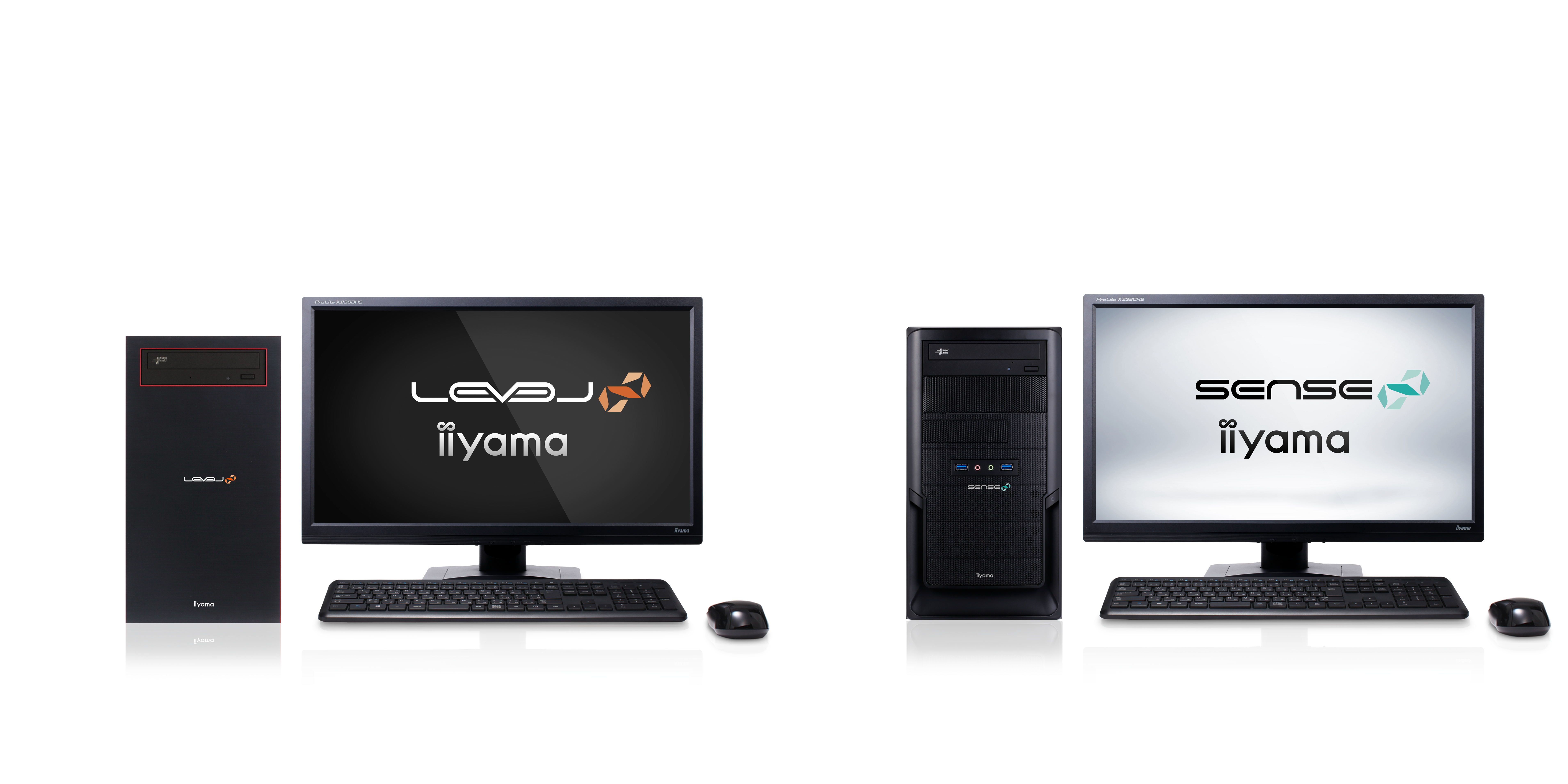 iiyama PCより、AMD Ryzen™ プロセッサーを搭載した スリム/ミニタワーモデルのライ... 画像
