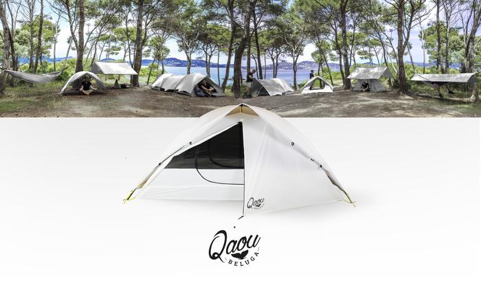 環境配慮型新作テント「BELUGA(ベルーガ)」