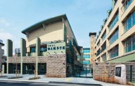 全日制の郁文館高校・郁文館グローバル高校の学生も学ぶキャンパス