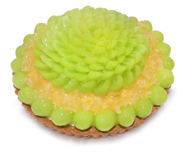 《池袋東武店》シャインマスカットとりんごゼリーのケーキ プライス:900円/1ピース