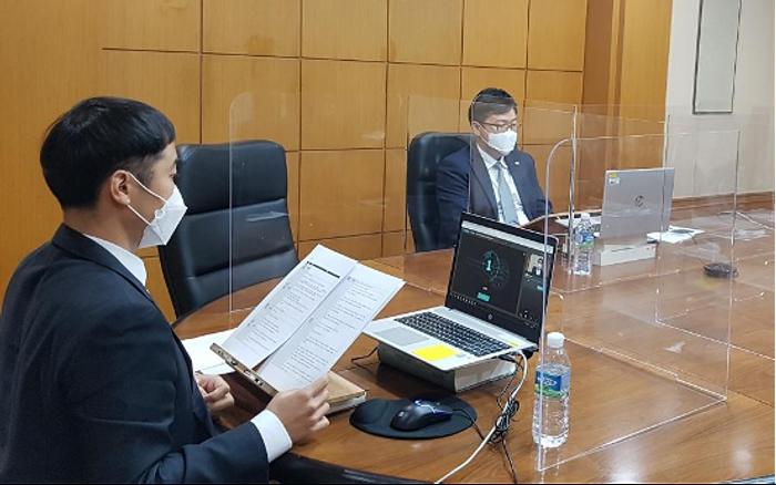 預金保険公社(韓国)の「2020 KDIC Global Training Program」「RemoteSeminar」で実施した