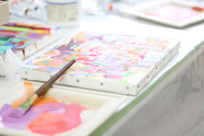 アート制作のイメージ