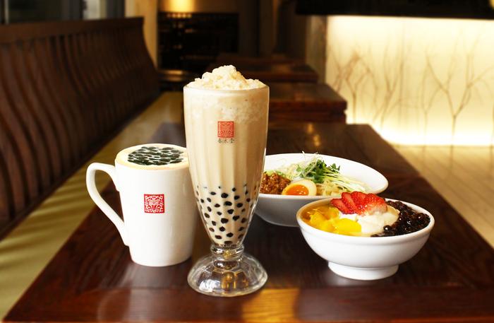 革新的アレンジティーと台湾茶食のカフェ「春水堂」