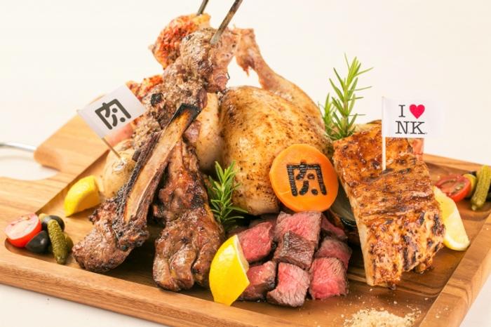 総重量2.9キロ!「肉ソン肉肉肉盛り」