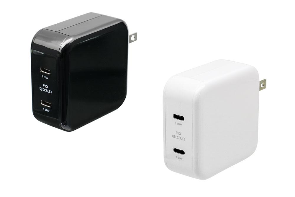 USB Type-Cを2ポート備えたOWL-ACTC2PD
