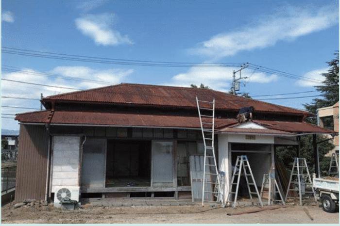 曾祖父から引き継いだまま、空き家にされていた古民家(before)