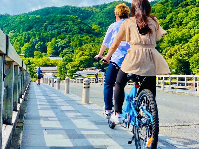 タンデム自転車乗車イメージ