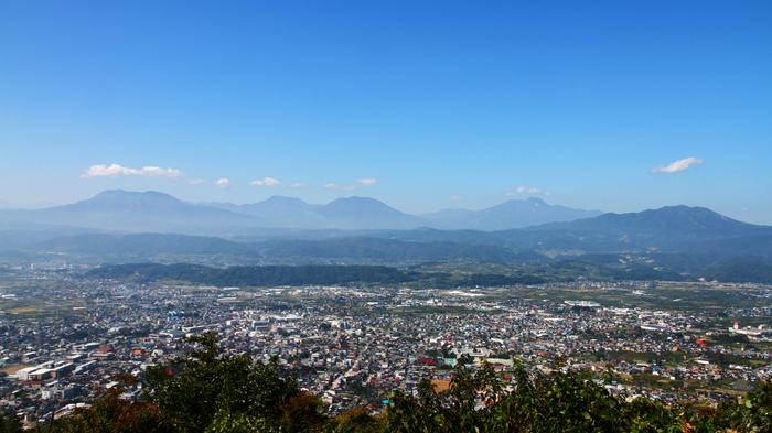 中野市全体の風景