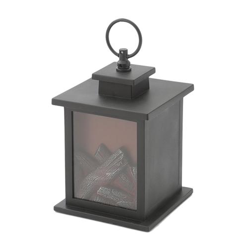 「LED Flame ランタン」価格:980円/サイズ:W12×D12×H18 cm(置いた状態)